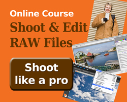Camera Raw Course Information