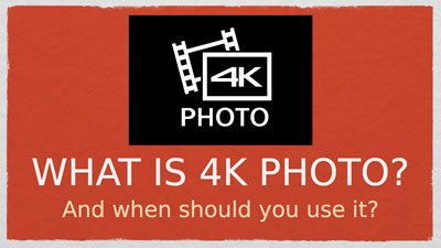 What is 4K photo