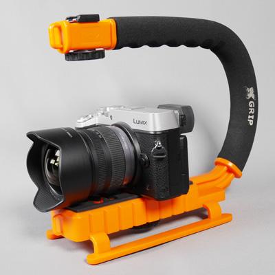 X-Grip with Lumix GX8