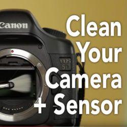 clean camera sensor