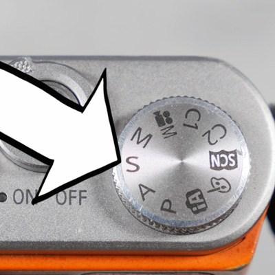 mode dial shutter priority