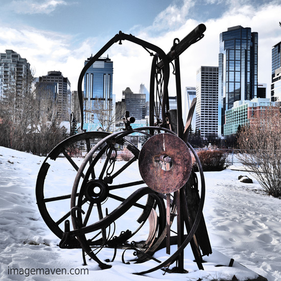 Marlene Hielema photo Calgary downtown