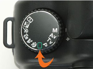 Camera Shooting Modes – Full Auto mode setting for picture taking
